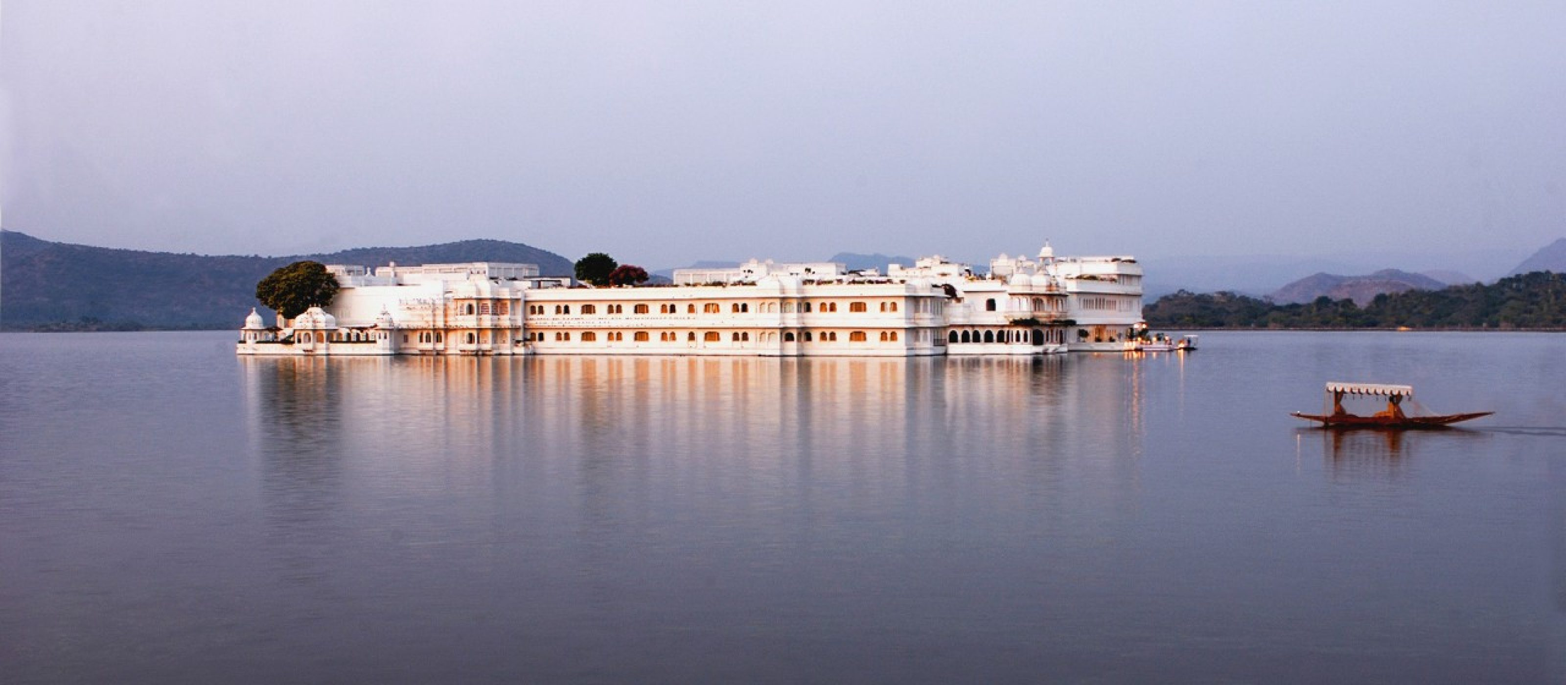 Taj Lake Palace in Udaipur, India