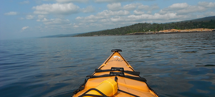 kayaking as a vacation rental Lake Superior activity